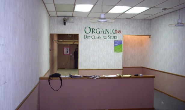Before -Originally a Dry Cleaners